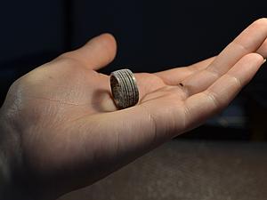 Кольцо из рога оленя. Ярмарка Мастеров - ручная работа, handmade.