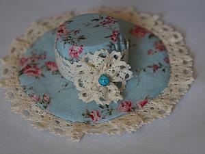 Шьём винтажную шляпку для текстильной игрушки. Ярмарка Мастеров - ручная работа, handmade.