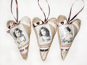 Сердце подвеска винтажное | Ярмарка Мастеров - ручная работа, handmade