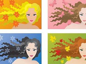 Критерии определения цветотипа внешности - нежные краски Весны. | Ярмарка Мастеров - ручная работа, handmade