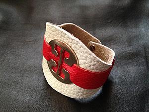 Аукцион на кожаный браслет с 0 руб! | Ярмарка Мастеров - ручная работа, handmade