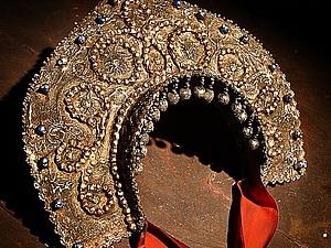Кокошник-женский головной убор. История возникновения.   Ярмарка Мастеров - ручная работа, handmade