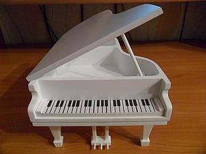 Изготовление шкатулки в виде рояля