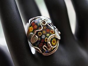 Аукцион!! На кольцо и кулон из серебра 925 пробы! | Ярмарка Мастеров - ручная работа, handmade