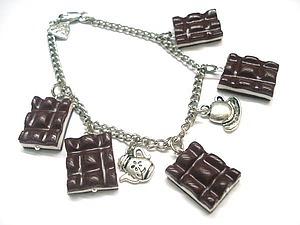 Лепим шоколадки из полимерной глины fimo | Ярмарка Мастеров - ручная работа, handmade