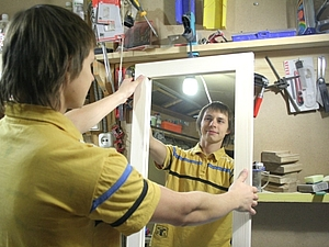 Рама для зеркала: 4 деревяшки? Мастер-класс. Ярмарка Мастеров - ручная работа, handmade.