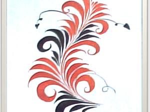 Рисуем завиток | Ярмарка Мастеров - ручная работа, handmade