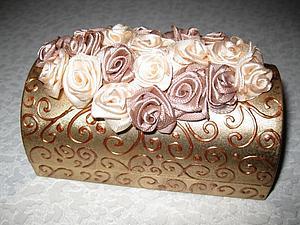 Шкатулка из мыльницы | Ярмарка Мастеров - ручная работа, handmade