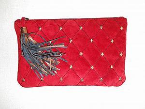 Курс по изготовлению сумок из кожи: клатч из кожи | Ярмарка Мастеров - ручная работа, handmade