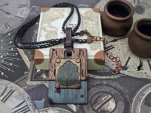 """Делаем кулон из полимерной глины """"Три металла"""". Ярмарка Мастеров - ручная работа, handmade."""