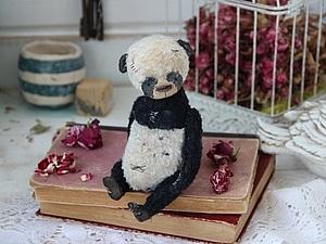 МК 22 февраля в Москве мишка/панда группа набрана! | Ярмарка Мастеров - ручная работа, handmade