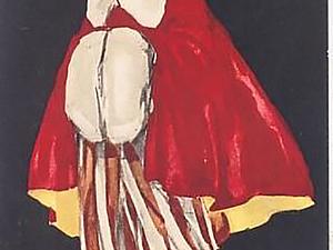 Мода в картинках: итальянский художник Enrico Sacchetti. Ярмарка Мастеров - ручная работа, handmade.