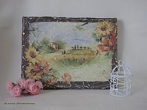 Имитируем фреску: создаем панно на холсте | Ярмарка Мастеров - ручная работа, handmade