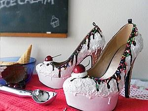 Вкусные туфли от Shoe Bakery | Ярмарка Мастеров - ручная работа, handmade