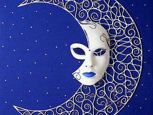 Создаем декоративное панно «Ажурная ночь». Ярмарка Мастеров - ручная работа, handmade.