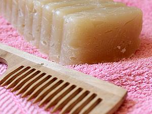 Как пользоваться шампуневым мылом.. Ярмарка Мастеров - ручная работа, handmade.