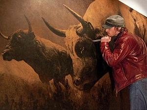 Первобытное искусство Марка Эванса   Ярмарка Мастеров - ручная работа, handmade