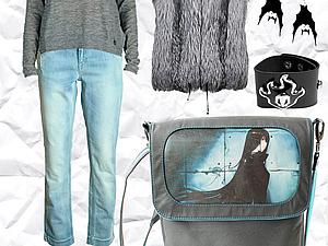 Как создать стильный образ с авторской сумкой?   Ярмарка Мастеров - ручная работа, handmade
