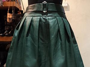 Кожаная юбка - стильно и практично. | Ярмарка Мастеров - ручная работа, handmade