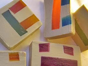Создаем мыло с прозрачными вставками с нуля. Ярмарка Мастеров - ручная работа, handmade.
