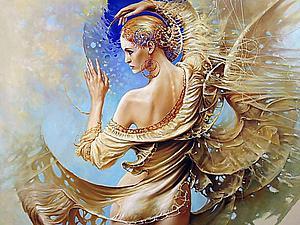 Таинственная мандала женской души в картинах польского художника Karol Bаk. Ярмарка Мастеров - ручная работа, handmade.