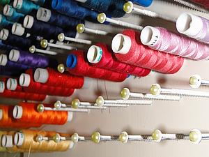 Как организовать рабочее место? Личный опыт создания органайзеров для ниток. | Ярмарка Мастеров - ручная работа, handmade