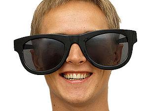 Оригинальные и необычные солнцезащитные очки   Ярмарка Мастеров - ручная работа, handmade