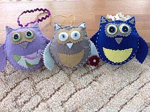 Новенькое-игрушки из фетра | Ярмарка Мастеров - ручная работа, handmade