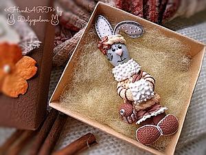 Зайка Соня :-) | Ярмарка Мастеров - ручная работа, handmade