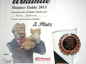 Teddybr-Wettbewerb Meister-Teddy 2013 | Ярмарка Мастеров - ручная работа, handmade