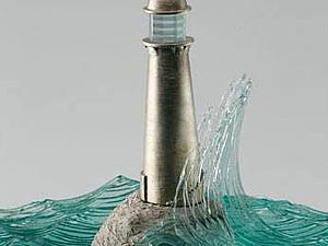 Стеклянные скульптуры воды   Ярмарка Мастеров - ручная работа, handmade