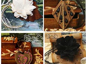 Презентация -  подвески из экзотических пород дерева от Семейного Дела АИА. | Ярмарка Мастеров - ручная работа, handmade