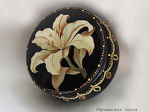 Декор шкатулки в технике аппликация соломкой. Ярмарка Мастеров - ручная работа, handmade.