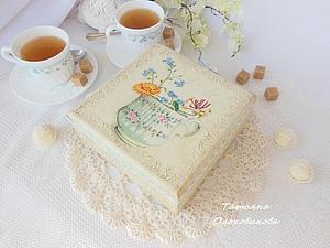 Шкатулка для чая