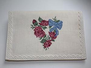 Шьем и вышиваем карман для носовых платочков. Ярмарка Мастеров - ручная работа, handmade.