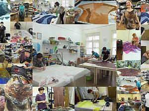 МК туника, платье, топ или жилет с разными фактурами. | Ярмарка Мастеров - ручная работа, handmade