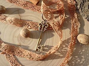 Окрашиваем кружево в винтажный цвет | Ярмарка Мастеров - ручная работа, handmade