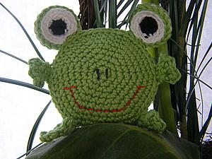 Вяжем тактильную игрушку «Лягушку» | Ярмарка Мастеров - ручная работа, handmade