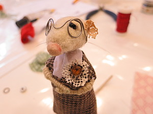 Фотоотчет с МК по нафталиновым мышкам... | Ярмарка Мастеров - ручная работа, handmade