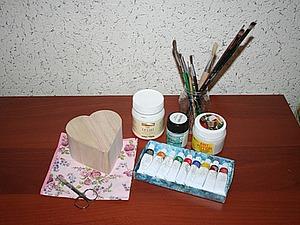 Декорирование шкатулки в технике декупаж. Ярмарка Мастеров - ручная работа, handmade.