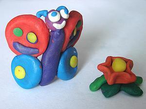 Лепим с детьми из пластилина: история «Рождение бабочки». Ярмарка Мастеров - ручная работа, handmade.