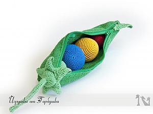 Вяжем развивающую игрушку
