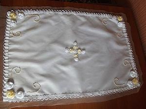 Создаем пасхальное покрывало для корзинки. Ярмарка Мастеров - ручная работа, handmade.
