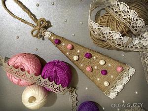 Делаем ёлочку на ёлочку. Ярмарка Мастеров - ручная работа, handmade.
