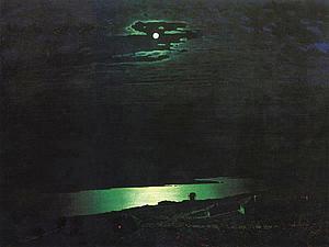 «Лунная ночь на Днепре» А.И. Куинджи. Ярмарка Мастеров - ручная работа, handmade.