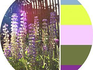 Авторские, цветовые сочетания для вдохновения | Ярмарка Мастеров - ручная работа, handmade