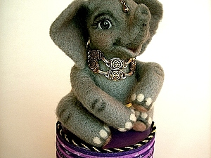 Розыгрыш   Слоненка | Ярмарка Мастеров - ручная работа, handmade