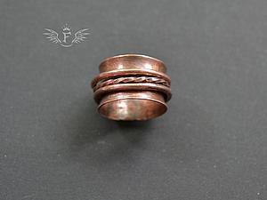 История создания кольца c вращающимися элементами. Ярмарка Мастеров - ручная работа, handmade.
