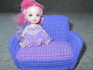 Делаем маленький диванчик для куколки. Ярмарка Мастеров - ручная работа, handmade.