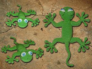 Вяжем ящерку от Bi Ba By   Ярмарка Мастеров - ручная работа, handmade